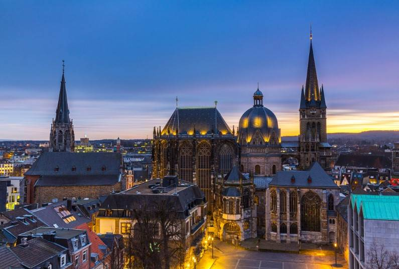 Celebrate New Year In Aachen