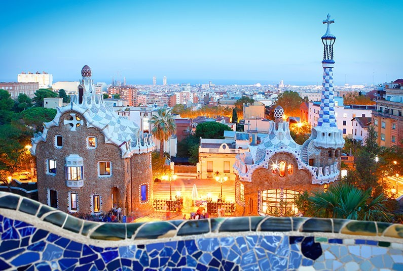 10 night luxury cruise Athens to Barcelona