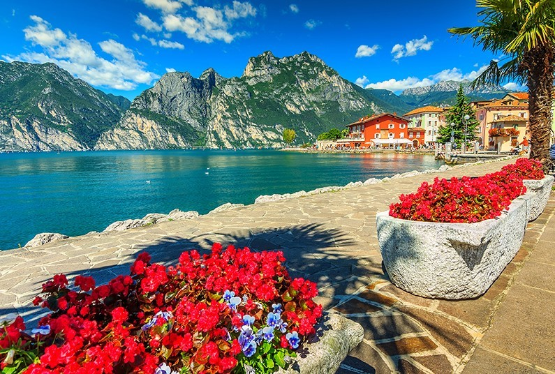 The Crystal Clear Waters of Lake Garda