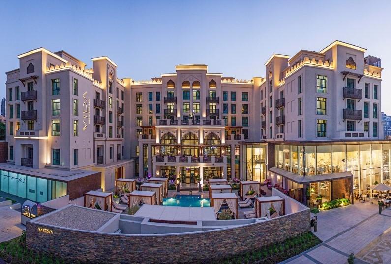 Vida Downtown Dubai 4 nights