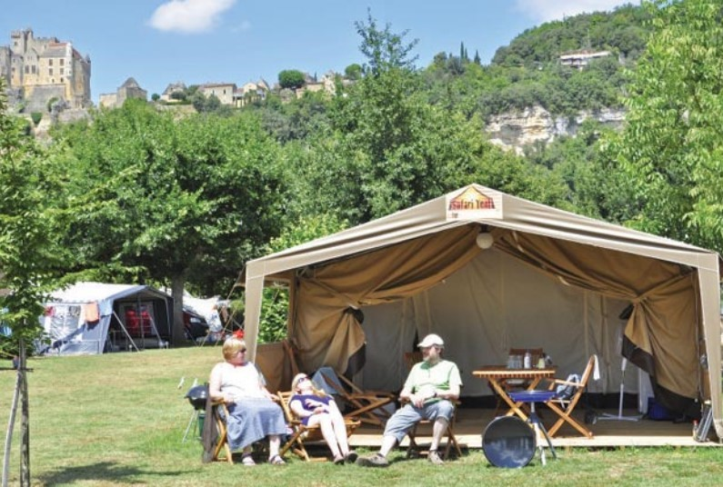 Safari Tent in the Dordogne