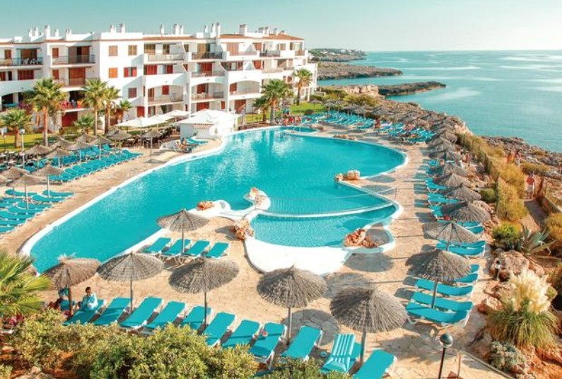 Seafront hotel in Majorca