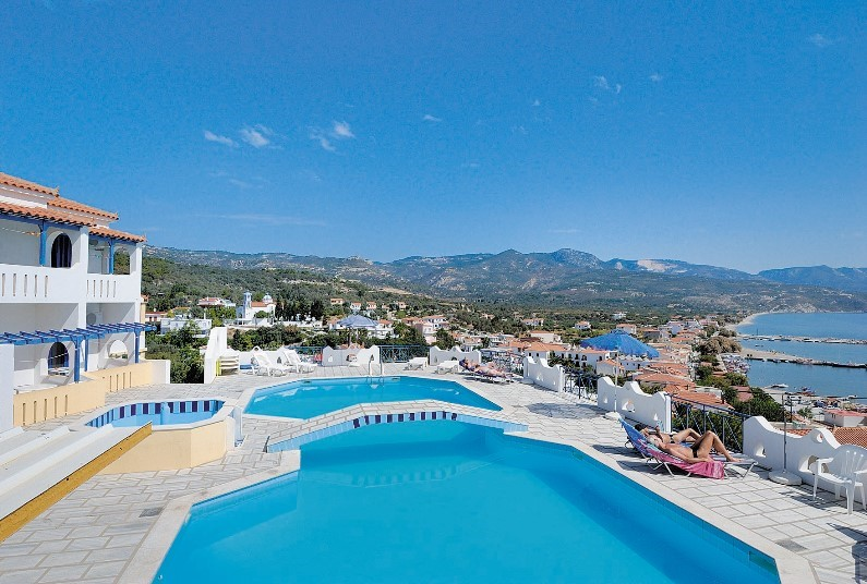 Pretty Samos from just £338pp in early June
