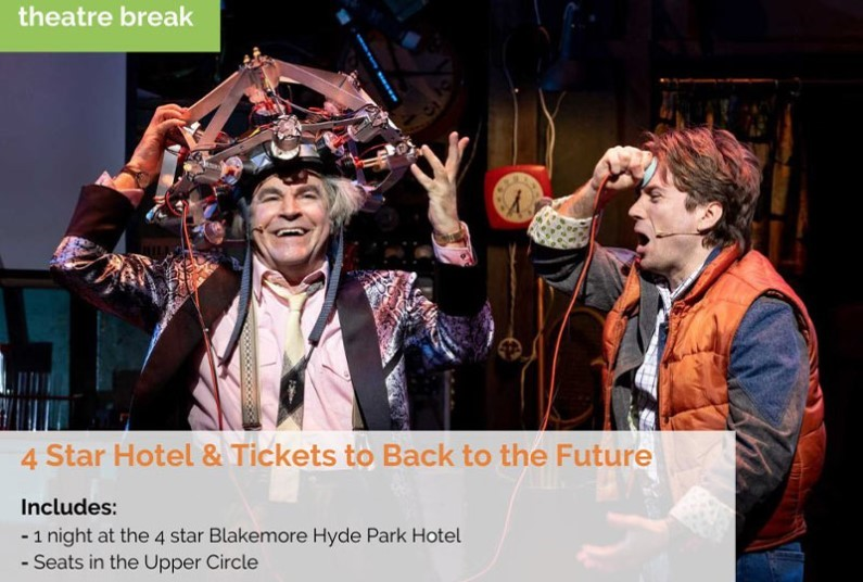Back To The Future The Musical London Theatre Break