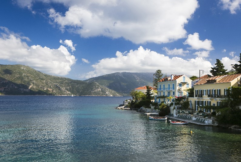 Save 43% on a holiday at the Waterfront Apts, Kefalonia