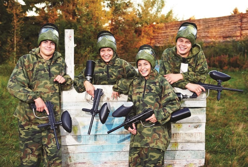 Paintballing For Four