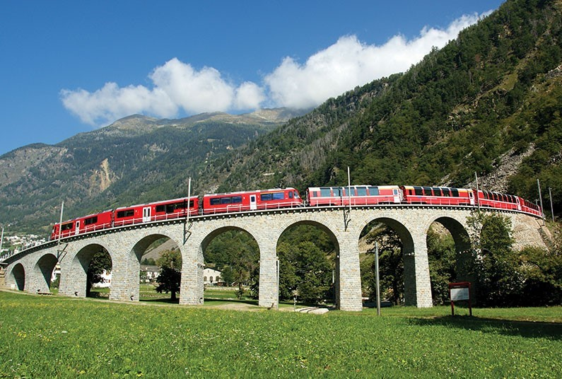 7 night European rail journey