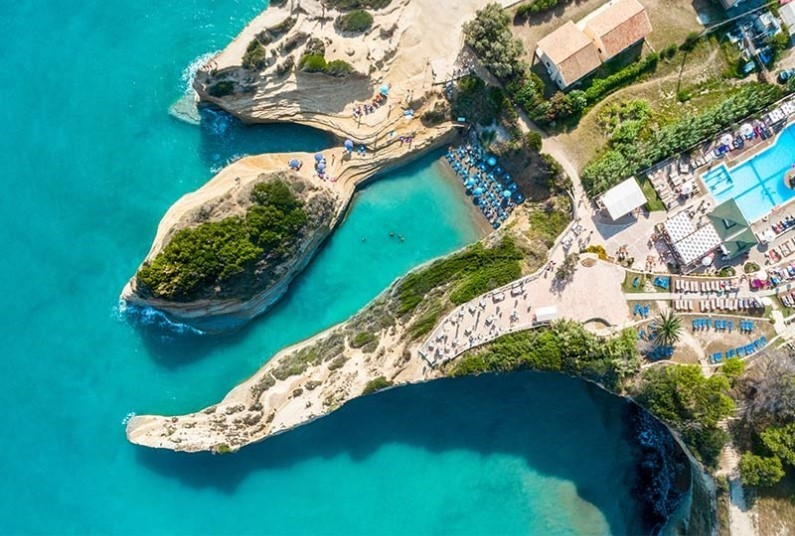 Sunshine and cultural delights await you in Corfu