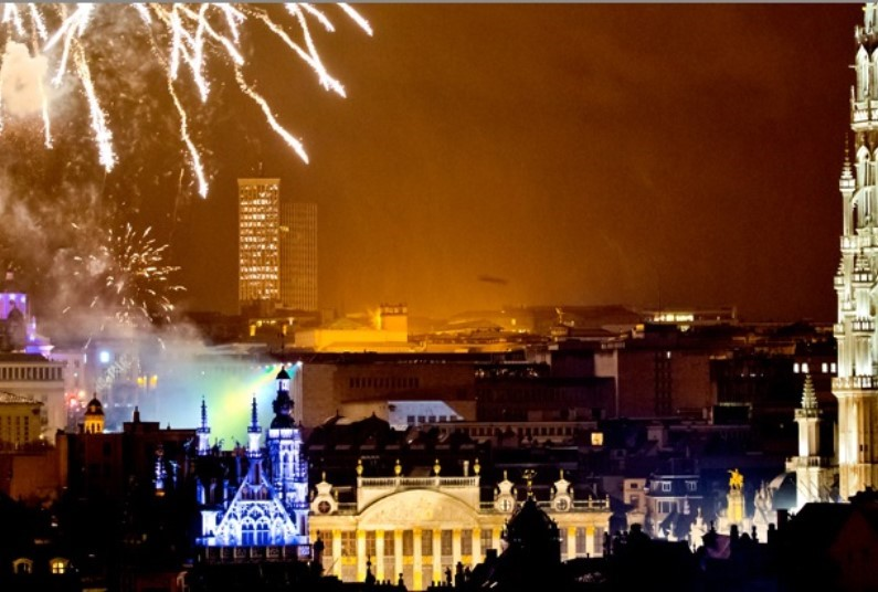 Four-Star New Year in Brussels