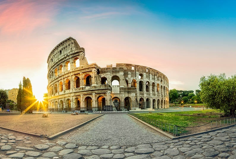 See the wonderful sights of Rome