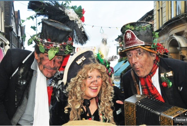 A packed itinerary including the Dickensian festival
