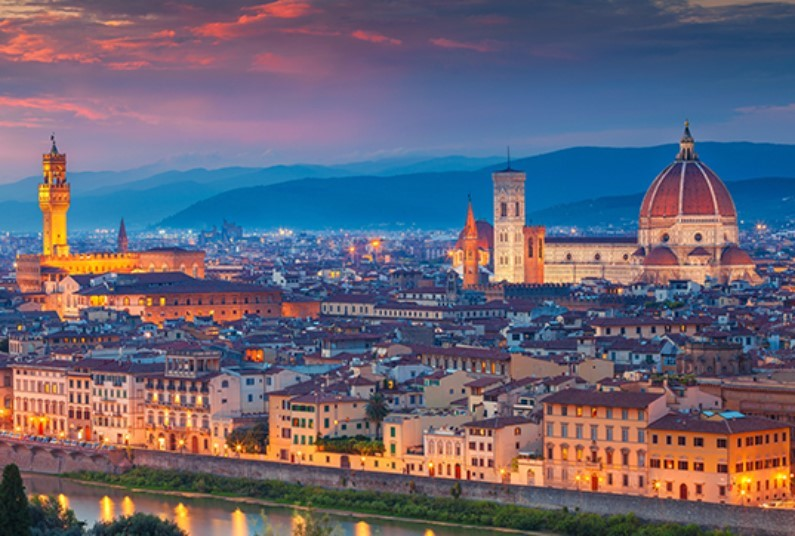 Cities and Scenery of Italy and Switzerland