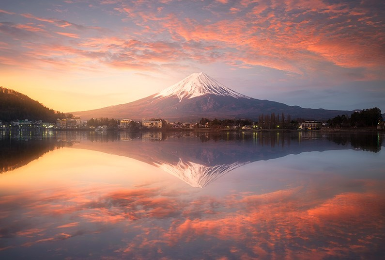 17 days all-inclusive tour of Japan