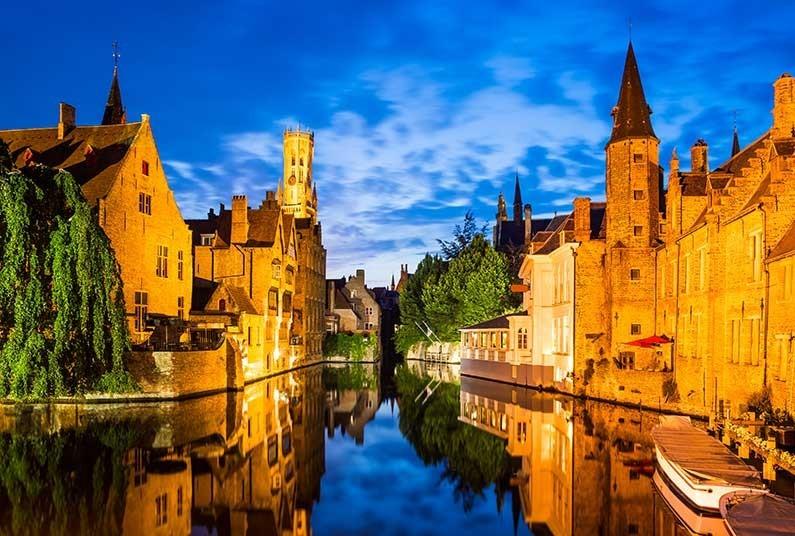 3 night short break in the picturesque city of Bruges