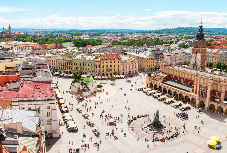 3-Night Krakow City Break