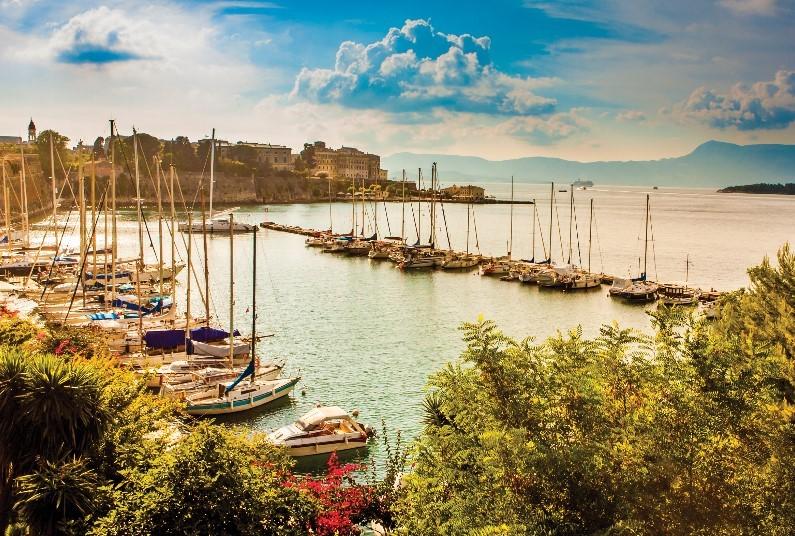 Compelling Corfu