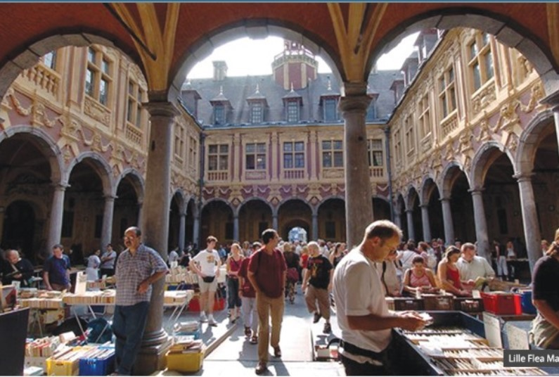 Europe's biggest flea market