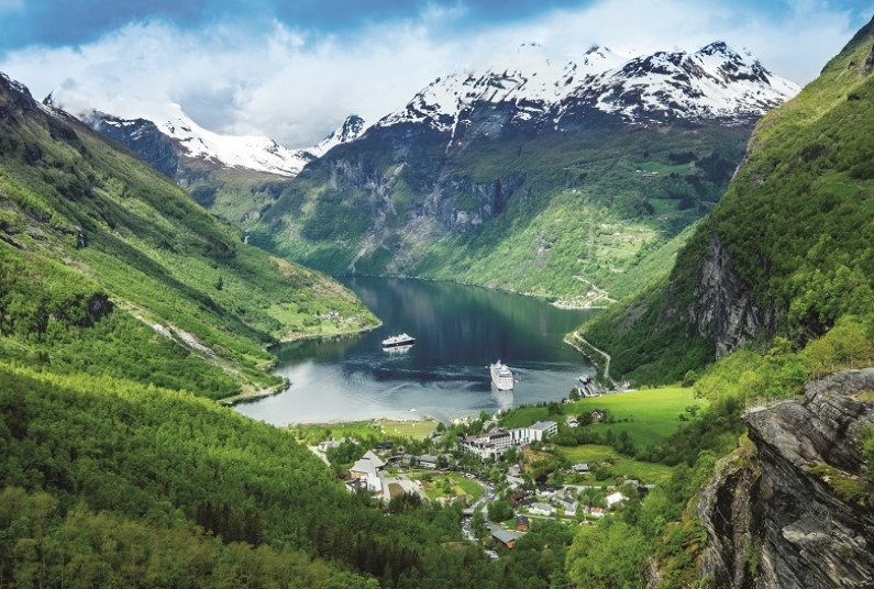 10 night cruise to the Norwegian Fjords