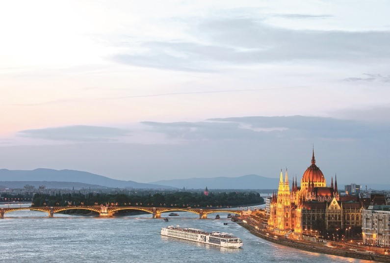 Romantic river cruise for 2