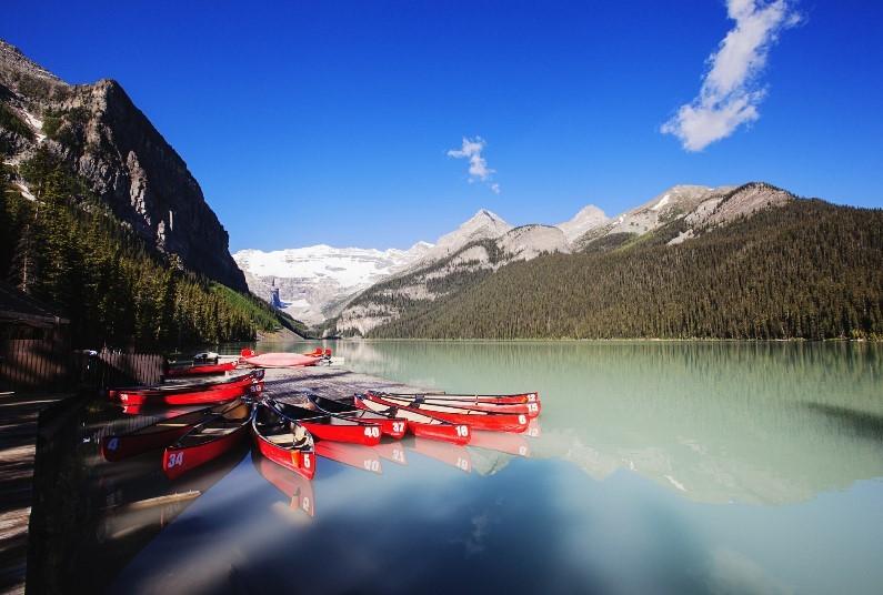 Panoramic Canadian Rockies