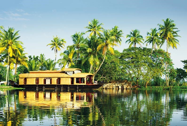 Experience India's Boulevards and Backwaters