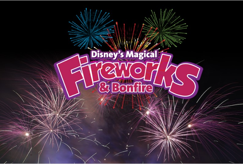 Disney's Magical Fireworks and Bonfire!