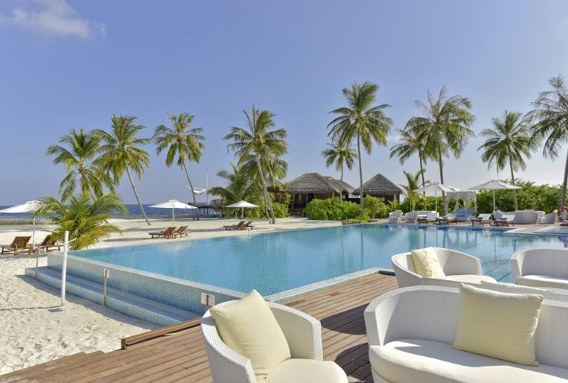 Indian ocean island hideaway