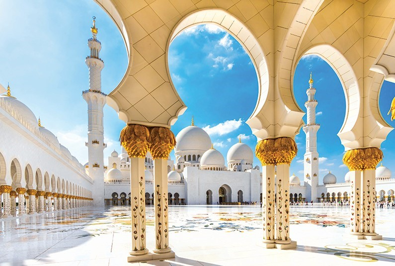15-day fly-cruise departing from Abu Dhabi
