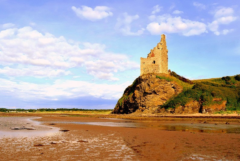 7 night family break in Ayrshire
