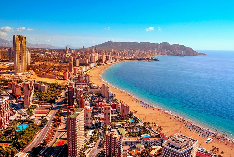 7 nights in Benidorm