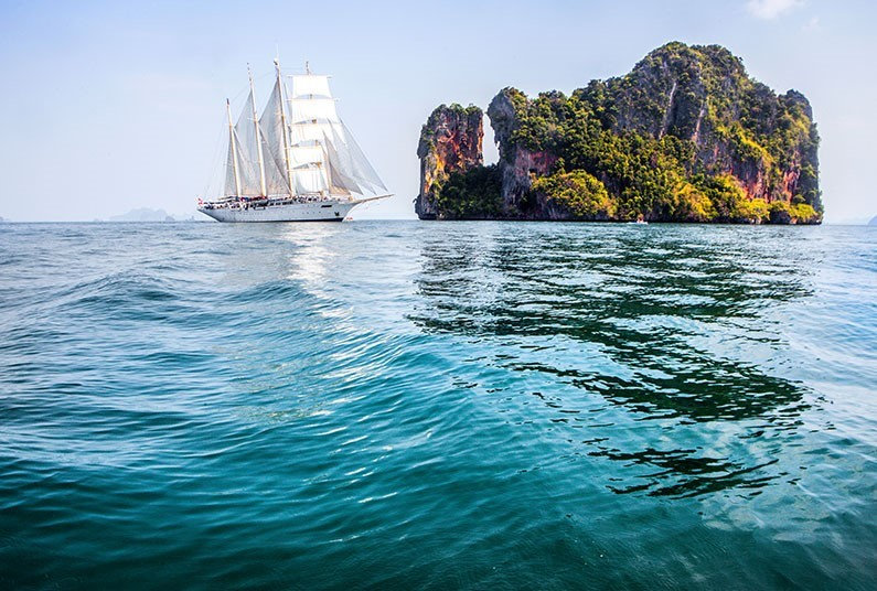 10 night cruise of Thailand and Cambodia with Star Clippers