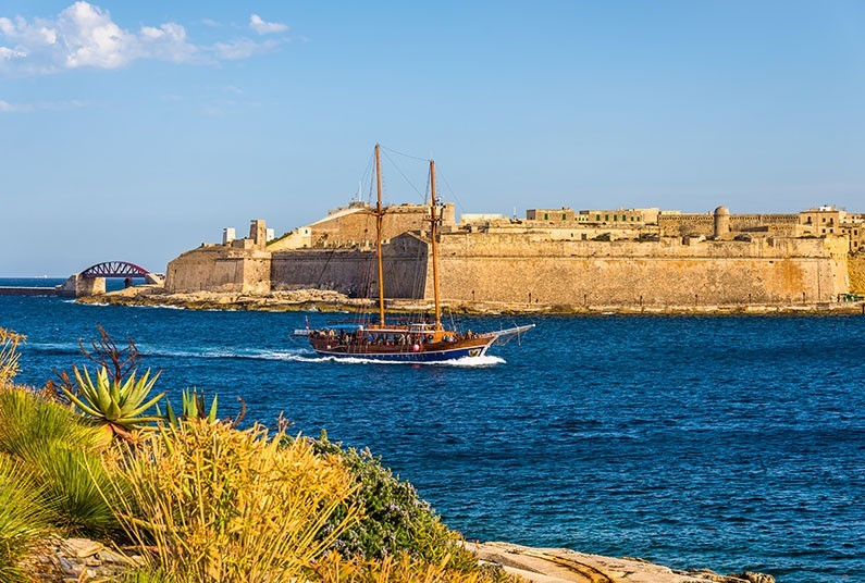 7 nights relaxation on the island of Malta