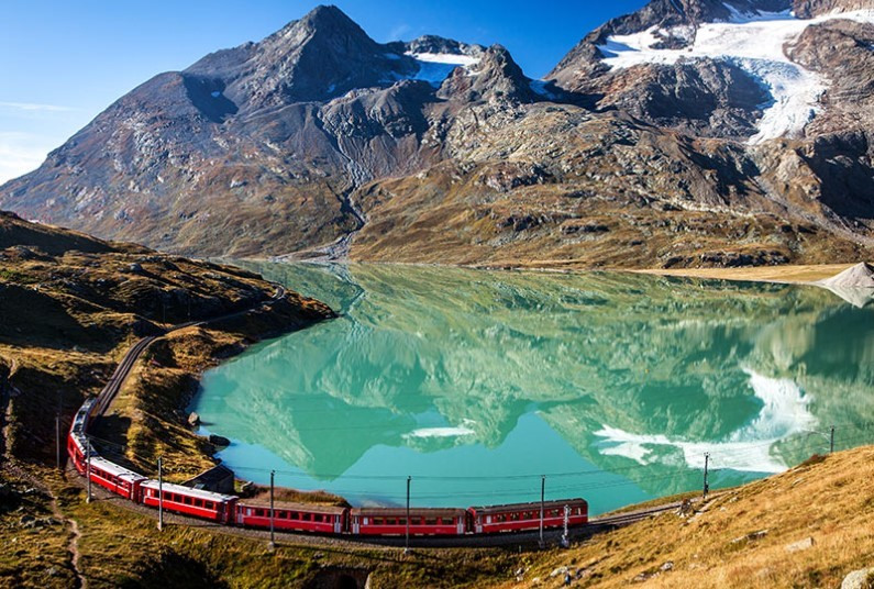 9 day Switzerland by rail tour