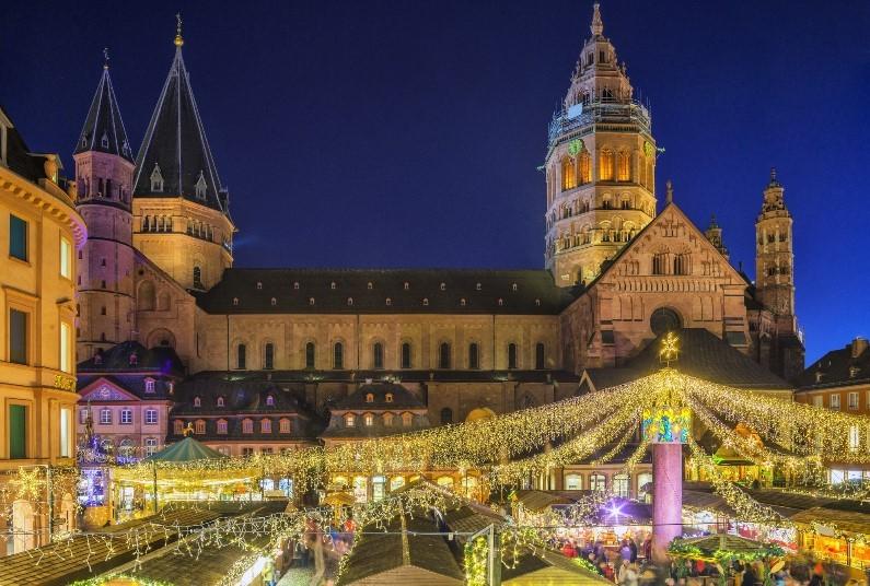 Festive Cruise Along The Rhine
