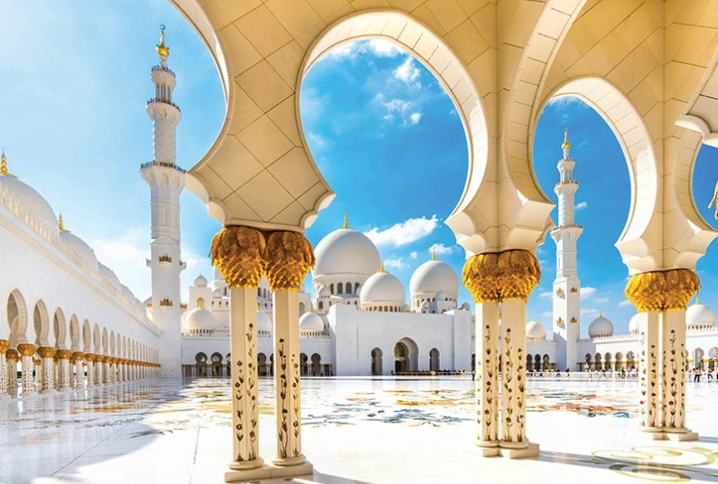 15 night cruise visiting Abu Dhabi, Dubai and India
