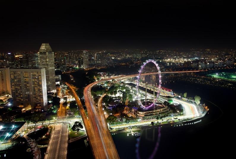 New For 2019, F1 Singapore Grand Prix