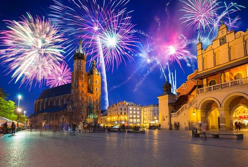 Krakow NYE| 3-4 Nights