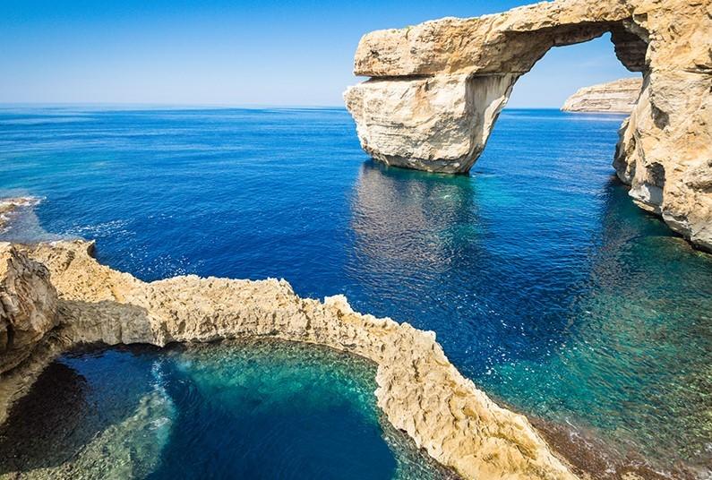 Sun in Gozo, Malta