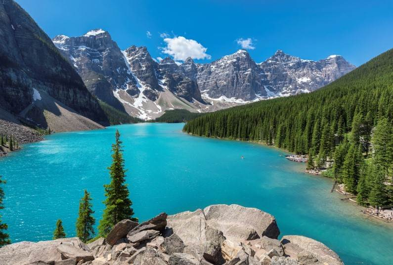 Experience The Highlights Of The Canadian Rockies
