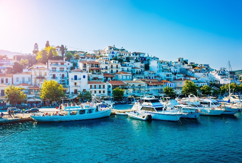 Spend Two Weeks Island Hopping In Greece