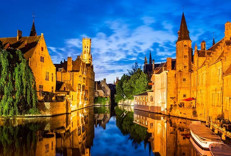 3 night short break in the picturesque city of Bruges