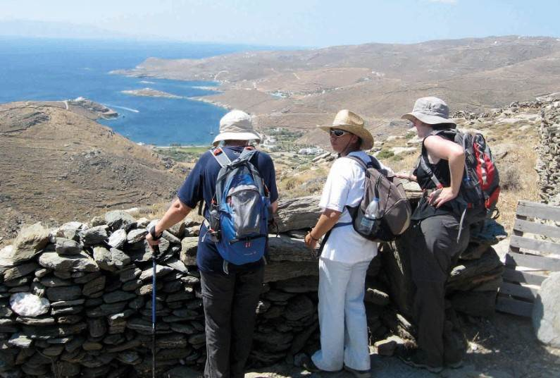 7 night walking holiday on Kythnos, Greece
