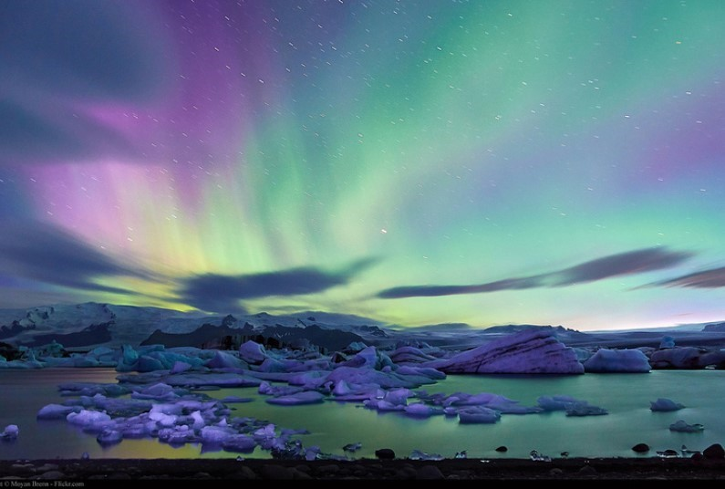 Iceland and the Northern Lights - By Air
