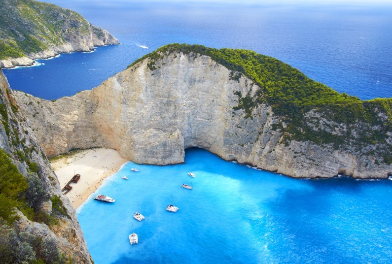 Beach Holiday in Zante