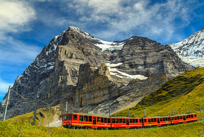 10 day scenic rail journey and Rhine river cruise