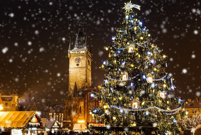Christmas Sparkle in Prague