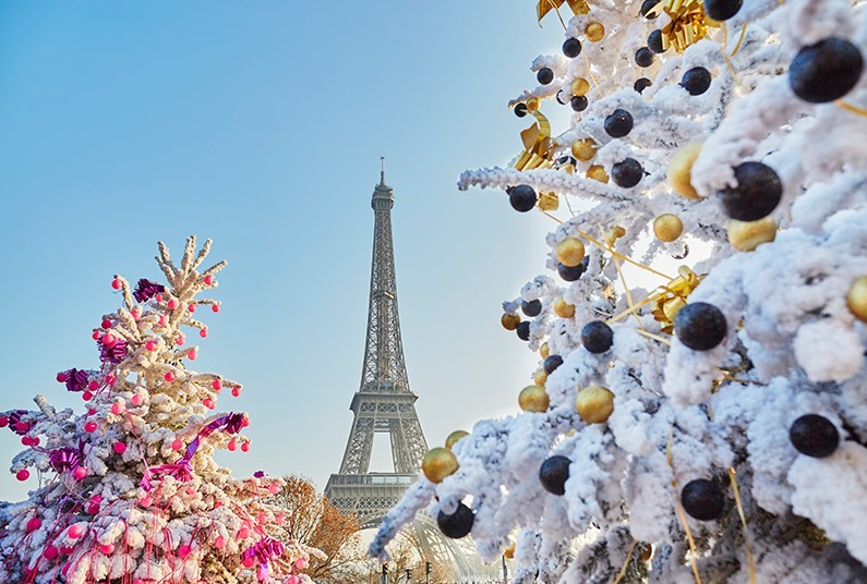 Christmas Sparkle in Paris
